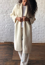 Long Shawl Cardigan in White