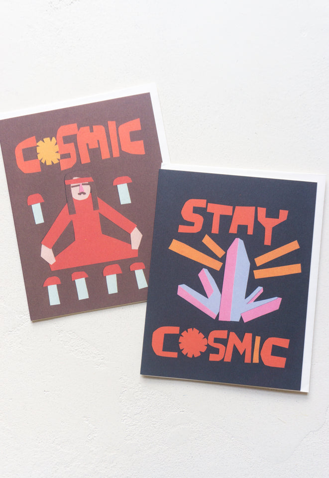 Cosmic Meditation Card