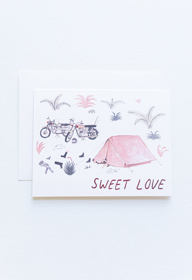 Sweet Love Valentine Greeting Card