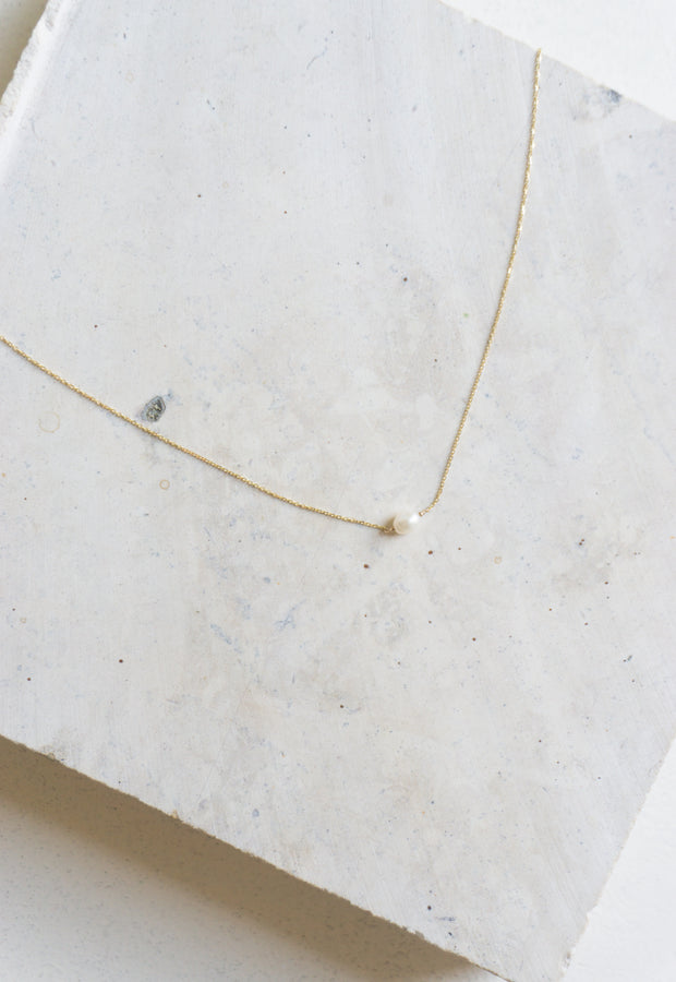 Irregular Pearl Necklace