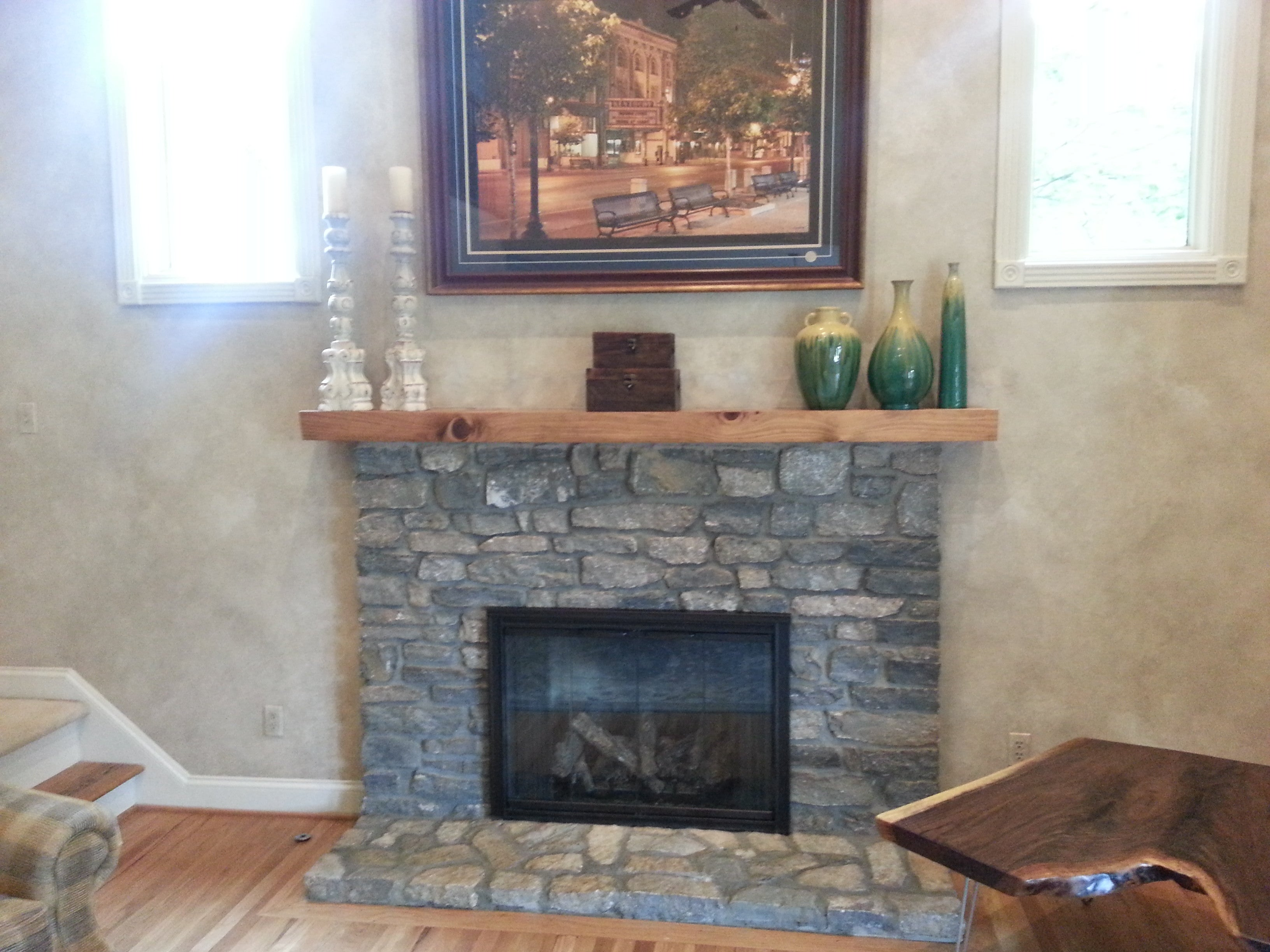 custom mantel live edge mantel hardwood mantel wooden mantel