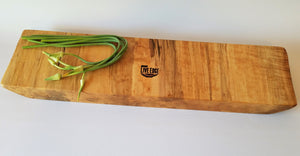 Large Wooden Serving Board- Charcuterie Board- Live Edge- Cutting Board- Centerpiece- Natural Wood Server- Table Runner- Figured Maple- Slab