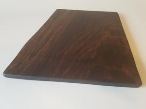 Large Serving Board- Charcuterie Board- Food Server- Black Walnut- Tapas- Bread Board- Cutting Board- Gift For Chef- Cooking- Hosting Gift