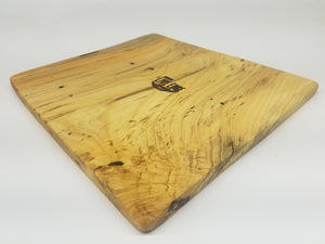 Natural Wood Serving Board- Charcuterie Board- Platter- Tray- Hackberry- Reclaimed- Cutting Board- Live Edge- Gift- Foodie- Chef- Cooking