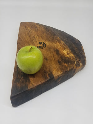 Charcuterie Board- Live Edge Serving Board- Dining- Cheese Board- Cutting Board- Hostess- Natural Wood Server- Platter- Maple- Sushi Plate