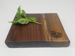 Wooden Serving Board- Gift- Platter- Charcuterie Board- Natural Wood- Foodie- Food Server- Walnut- Host- Hostess- Cooking- Chef- Reclaimed