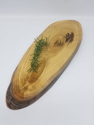 Large Charcuterie Board- Table Centerpiece- Long and Narrow- Serving Platter- Natural Wood- Serving Board- Food Safe- Live Edge Serving Tray