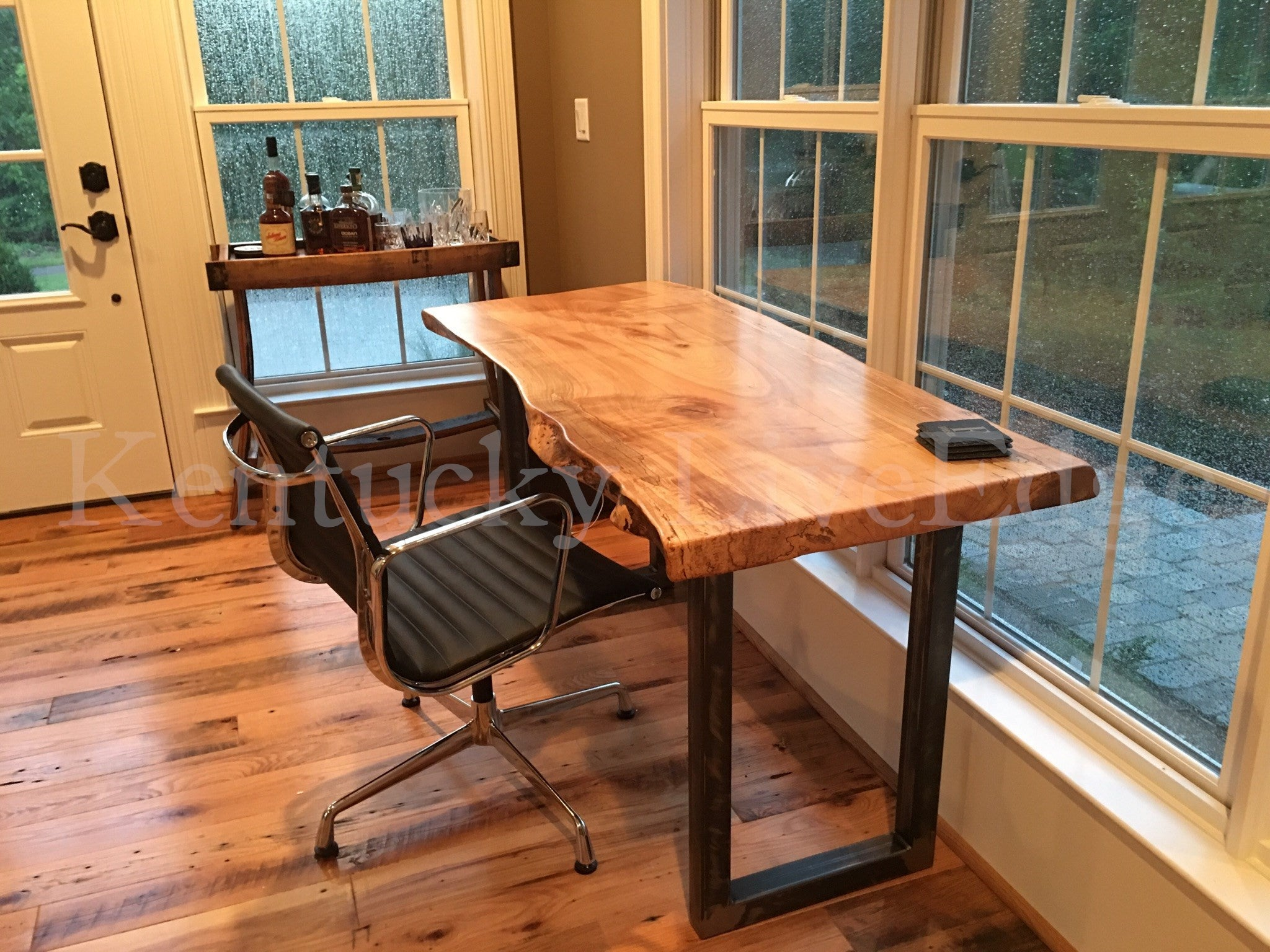 furniture natural crank desks industrial vintage desk