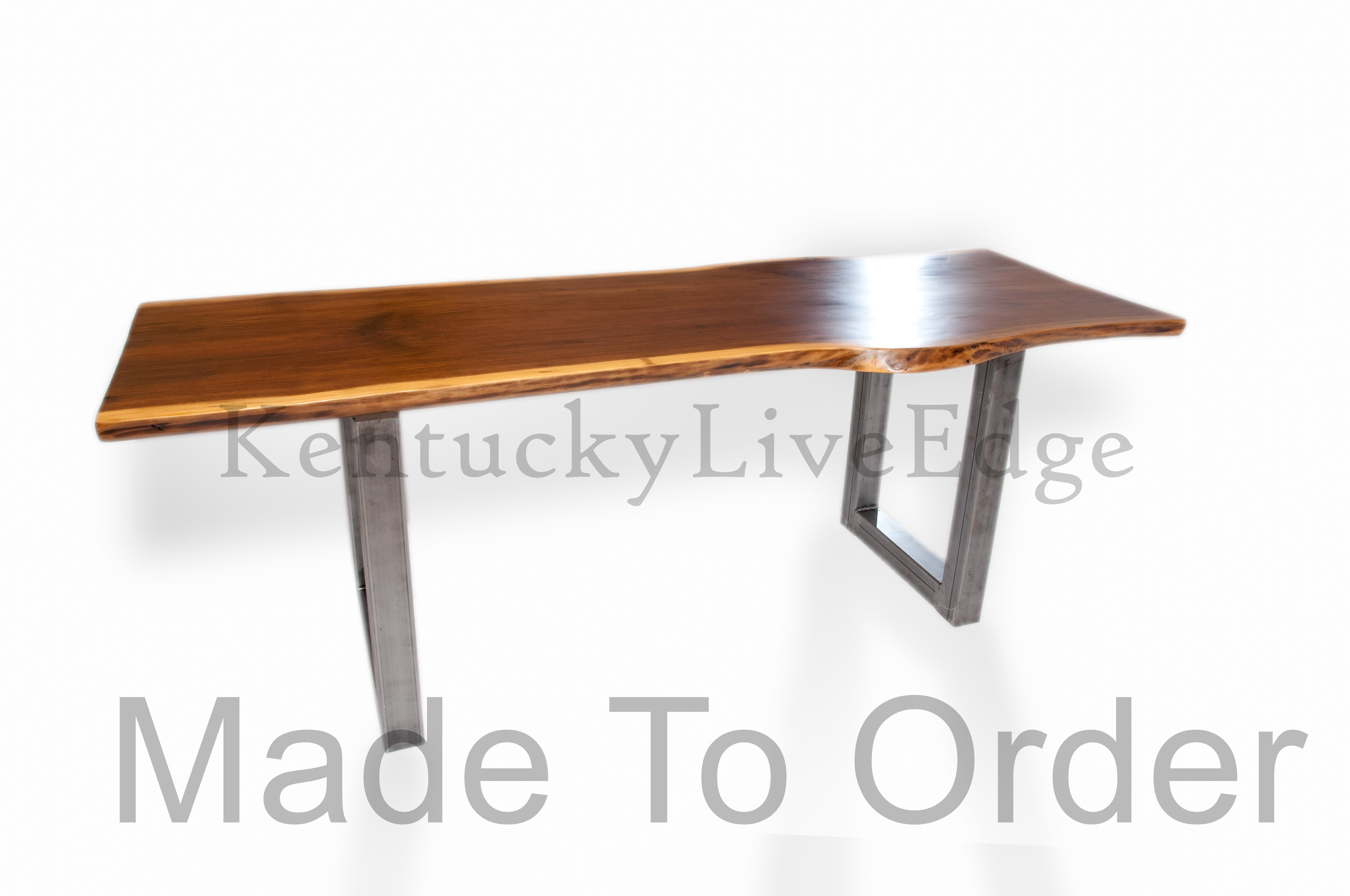 Made to Order Dining Table Conference Table Live Edge  : SideWatermarked from kentuckyliveedge.com size 4096 x 2720 jpeg 493kB