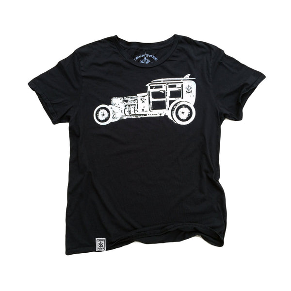 Rat Rod Woody: Organic Fine Jersey Short Sleeve T-Shirt