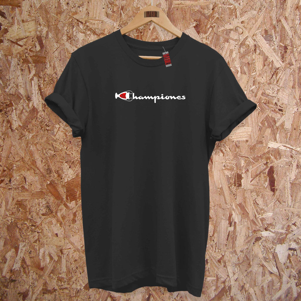 Championes - Liverpool Spoof Logo Fashion Fit T-Shirt