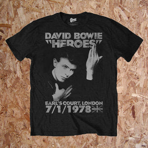 David Bowie - Heroes Earls Court T-Shirt