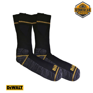 DeWalt Hydro Workwear Socks - 2 Pair Pack