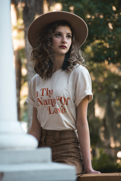 In The Name Of Love Tee