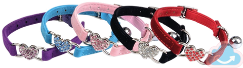 Heart Cat Collar - Monag Store