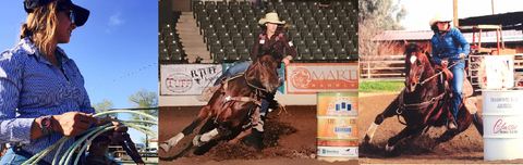 Michelle Hoekenga Oxy-Gen Equine Northwest, Legacy Leather Co. Oxy-Gen Supplements