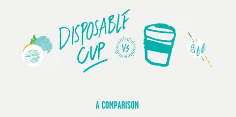 Graphic - Disposable Cup vs KeepCup