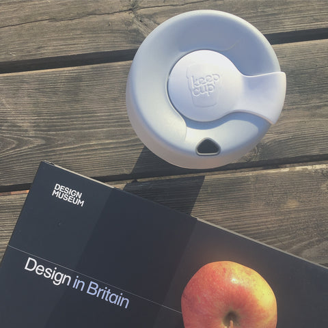 KeepCup with Book and Apple