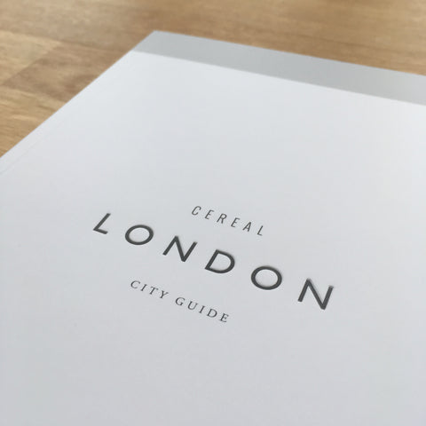 London travel guide cover