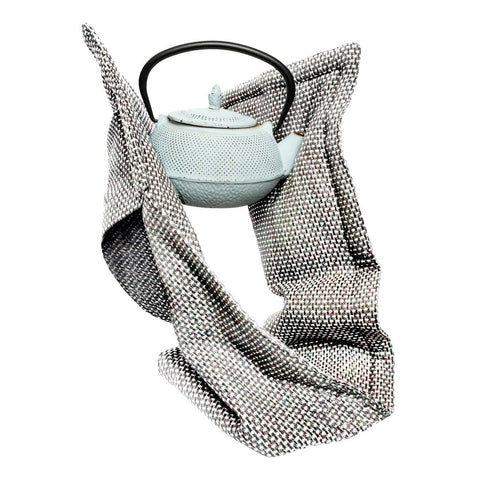 Grey Oven Gloves with kettle