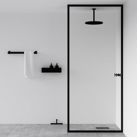 Shower with all black fittings