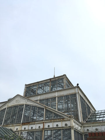 Roof of the Winter Gardens in Great Yarmouth