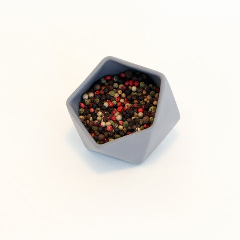 Ceramic Pot with peppercorns