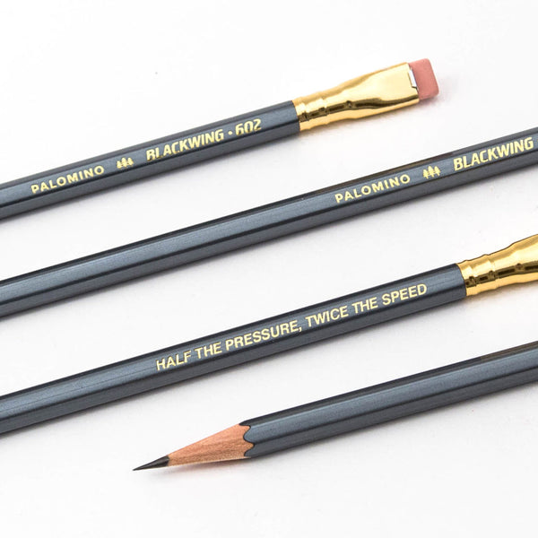 Blackwing 602 Pencils (Firm Graphite) | 12 Pack | Grey