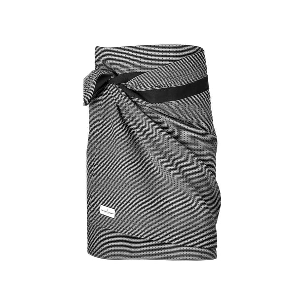 Organic Cotton Towel to Wrap Around You | Evening (Dark) Grey