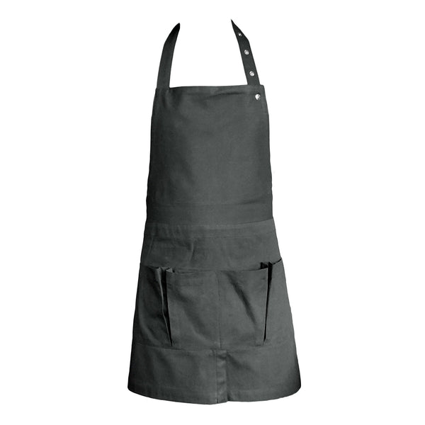 Organic Cotton Apron | Dark Grey
