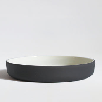 Stoneware Bowl | 22cm | Grey and White