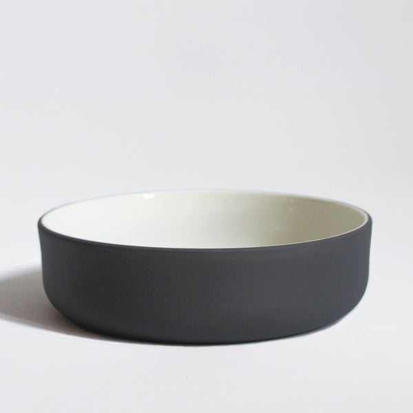 Stoneware Bowl | 16cm | Grey and White