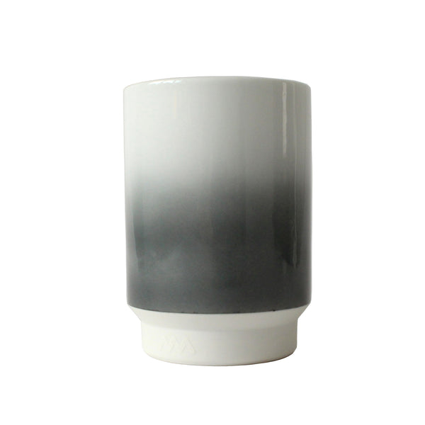 Porcelain Tea / Coffee Cup | Large | Grey Gradient