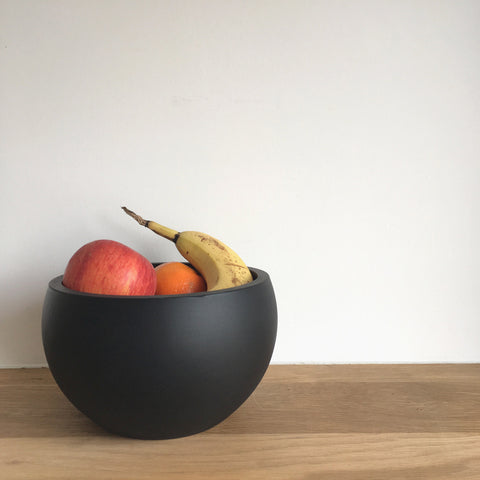 Round Bowl | Rubber | Black
