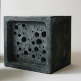 Bee Block | Concrete Bee Hotel | Grey