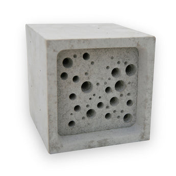 Bee Block | Concrete Bee Hotel | White