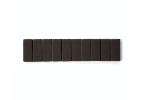 Blackwing Replacement Erasers | 10 Pack | Black