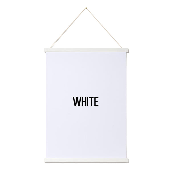 Magnetic Poster Frame | Small (A3) | White