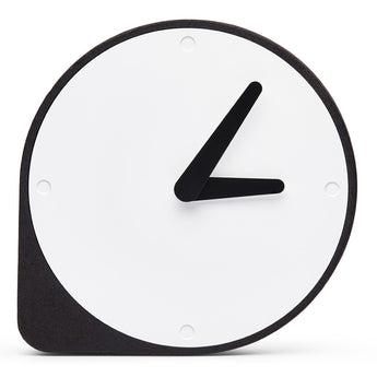 The Clork | Cork Clock | Black and White