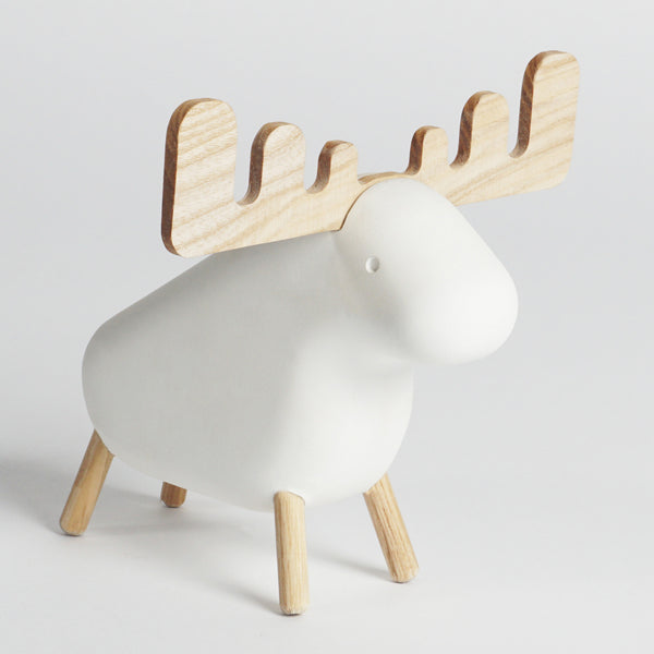 Concrete Moose | White