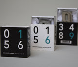 Concrete Numbers 0-9 | Grey
