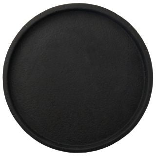 Round Concrete Tray | Black