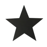 Large Star Decoration | Rubber | Black