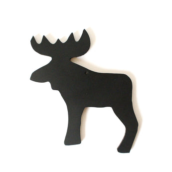 Moose Decoration | Rubber | Black