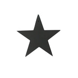 Small Star Decoration | Rubber | Black