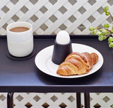 Egg Cup | Rubber | Black