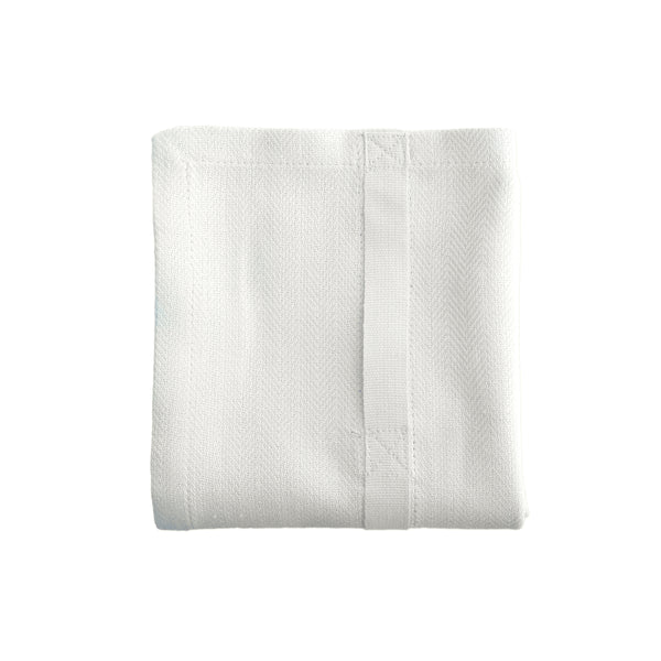 Extra Large Tea Towel | Organic Cotton | White
