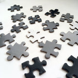 Gradient Puzzle | White - Grey - Black