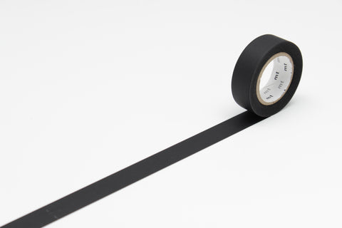 MT Washi Tape | Matte Black