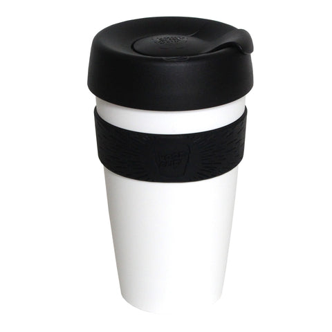 KeepCup Reusable Coffee Cup | White